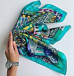 10816-11, павлопосадский платок на голову хлопковый (саржа) с подрубкой, фото 9