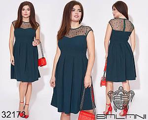 Нарядное женское платье, батал Размеры 50,52,54