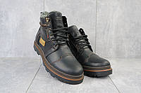 Мужские зимние ботинки Riccone 315 чёрные