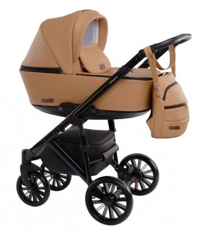 Детская коляска универсальная 2 в 1 Broco Smart ecru /2207/ (Броко Смарт, Польша)