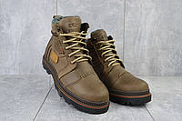 Зимние мужские ботинки Riccone 315 оливковые