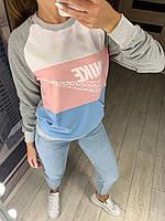 Молодёжный женский спортивный свитшот в 4 расцветках