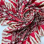 10477-5, павлопосадский платок из вискозы с подрубкой, фото 7