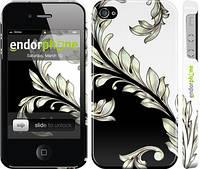 """Чехол на iPhone 4 White and black 1 """"2805c-15"""""""