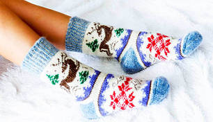 Носки женские зимние оптом