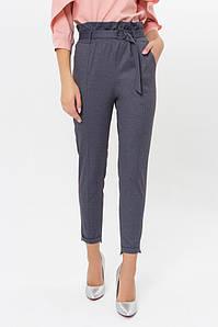 Женские брюки с высокой талией поясом