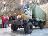 Новый украинский грузовик Hyundai HD55S (4х4) на выставке Оружие и безопасность 2019