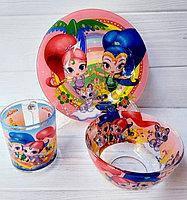 """Набор Детской Посуды """"Аладдин"""", 3 предмета"""