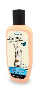 """Шампунь для короткошерстих котів """"Мурзик"""" 250 мл, фото 2"""