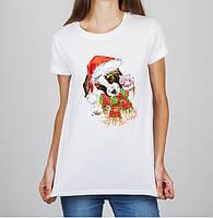 Женская футболка Push IT с принтом Щенок