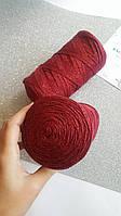 Yarn Art RIBBON LUREX №739 бордо