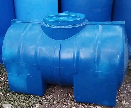 Емкость для воды горизонтальная 300 л, фото 2