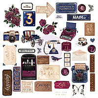 Висічки - Shapes, Tags, Words, Foiled Accents - Darcelle - Prima Marketing - 39 шт.