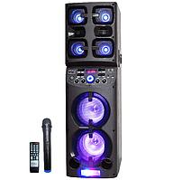 Портативная колонка с микрофоном Ailiang (USB/Bluetooth/Аккумулятор/260W) Супер звук!