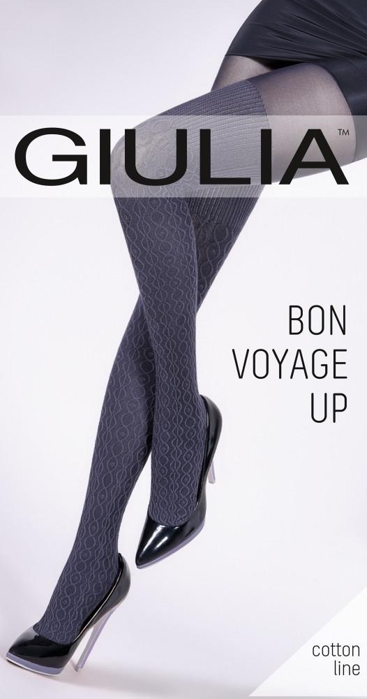 Фантазийные колготки Giulia BON VOYAGE UP 200 den model 3