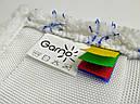 Моп для швабры 40 см петельный тафтинговый комбинирон трио GARNO/Гарно, фото 4