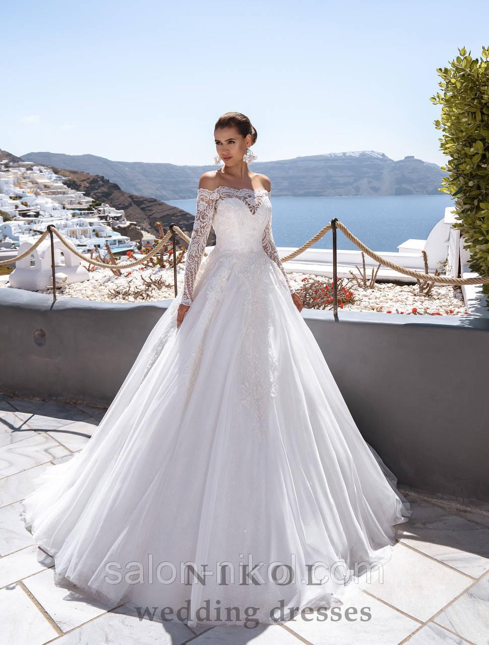 Свадебное платье № S-495