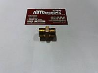 Соединитель резьбовой резьба М18х1.5 под трубку пластиковую ключ на 22
