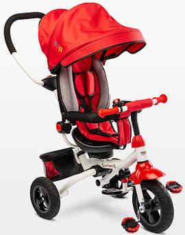 Детский трехколесный велосипед Caretero (Toyz) Wroom красный