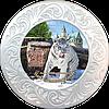 """Тарілка полікерамічна діаметром 18см. с. Демидів """"ХІІ Місяців """"Парк щасливих тварин"""""""