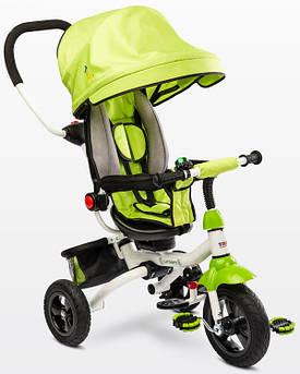 Детский трехколесный велосипед Caretero (Toyz) Wroom зеленый