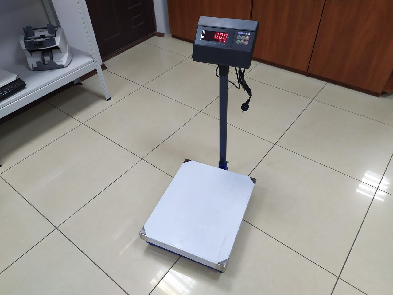 Весы товарные ЗЕВС ВПЕ A12L/A12E (60, 150, 200 кг)