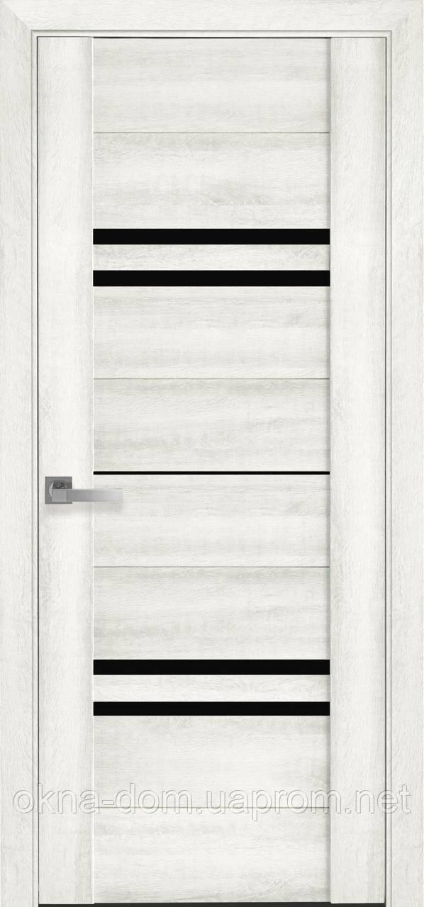 Двери межкомнатные Новый Стиль Мерида BLK