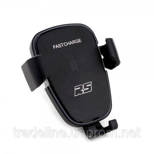 Автодержатель-зарядка RS беспроводная S-charger