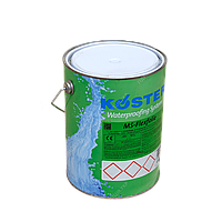 Гидроизоляция гибридная и полимерная гидроизоляция, жидкие мембраны KOSTER MS Flexfolie, 8кг
