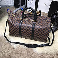 Мужская сумка Softsided Luggage Louis Vuitton Keepall 55 Ebene, Реплика