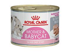 Влажный корм для котов Royal Canin Mother & Babycat 195 г (047363)