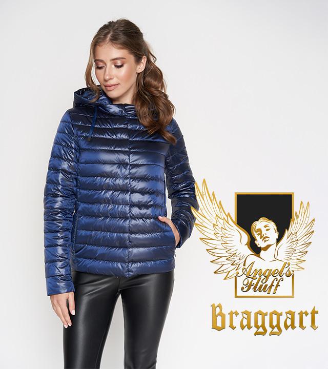 Воздуховик Braggart Angel's Fluff 24992 | Весенне-осенняя куртка сапфировая