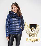Воздуховик Braggart Angel's Fluff 24992 | Весенне-осенняя куртка сапфировая, фото 1