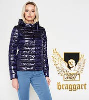 Воздуховик Braggart Angel's Fluff 24992 | Куртка женская весенне-осенняя фиолетовая, фото 1