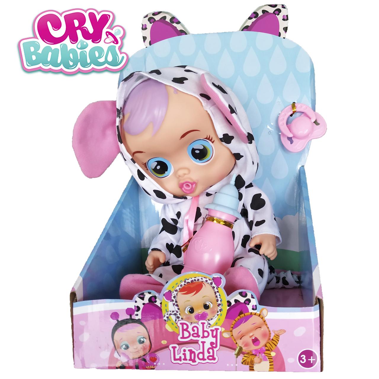 Интерактивная кукла пупс Cry Babies Lea - Плачущий младенец Лиа 35см scs scs