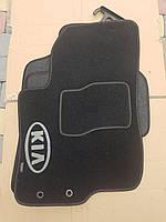 Текстильные ковры в салон Kia Cerato TD (2008-2013) ворсовые