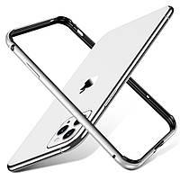 Бампер ESR для iPhone 11 Pro Max Crown Metal (Edge Guard), Silver (3C01192520201), фото 1