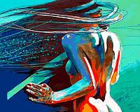 Картина по номерам Ветер в волосах (VP1185) 40 х 50 см DIY Babylon