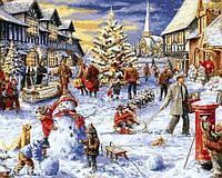 Картина по номерам Зимние каникулы (VP1206) 40 х 50 см DIY Babylon