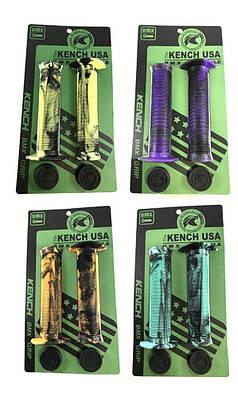 Гріпси для BMX з фланцями Kench Iron USA