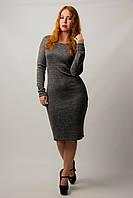 Платье футляр из ангоры от бренда Adele Leroy.