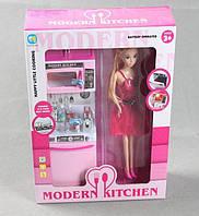 Набір лялька з меблями кухня 818-18