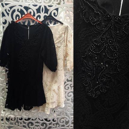 """Великолепное женское платье ткань """"Кружево на подкладке"""" 46 размер норма, фото 2"""
