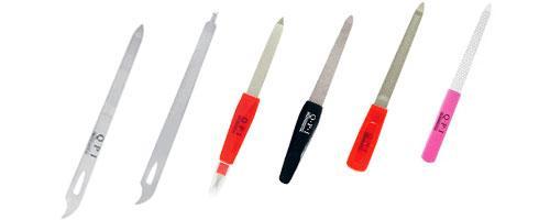 Пилки для ногтей металлические