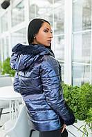 Картка демисезонная женская антивлага осень зима черный,синий,меланж,бордо,горчица