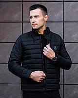 Куртка мужская черная.Мужская демисезонная куртка  Osten  Black. ТОП КАЧЕСТВО!!!, фото 1