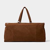 Мужская кожаная дорожная сумка Zara