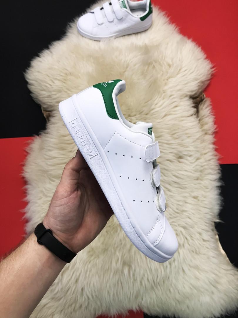 """Кроссовки Adidas Stan Smith White """"Green"""""""