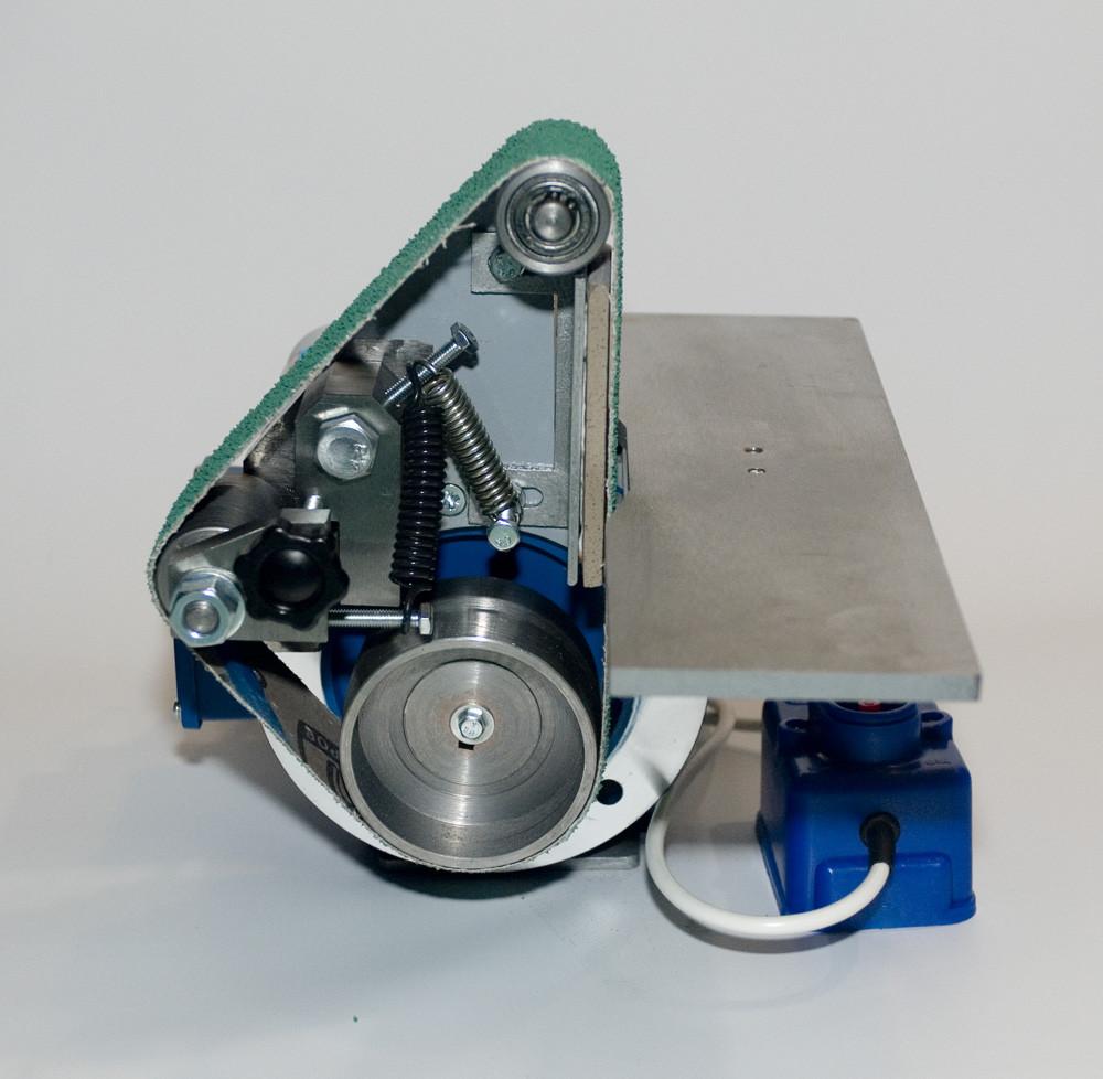 Стрічковий гріндер GRN-404 з великим столом 610-50 мм, шліфувальний верстат