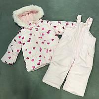 Зимний комплект для девочки Carters